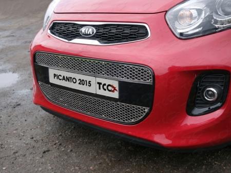 Решетка радиатора нижняя (лист) Kia Picanto 2015 KIAPIC15-02